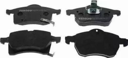 Ferodo FDB1295 - Piduriklotsi komplekt,ketaspidur multiparts.ee