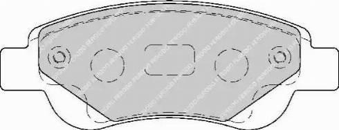 Ferodo FDB1790 - Piduriklotsi komplekt,ketaspidur multiparts.ee