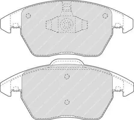 Ferodo FDB1728 - Piduriklotsi komplekt,ketaspidur multiparts.ee
