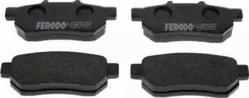 Ferodo FDB778 - Piduriklotsi komplekt,ketaspidur multiparts.ee