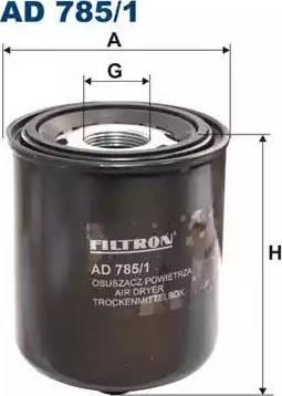 Filtron AD 785/1 - Õhukuivati,Suruõhusüsteem multiparts.ee