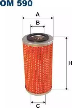 Filtron OM 590 - Filter,tööhüdraulika multiparts.ee