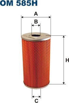Filtron OM 585H - Filter,tööhüdraulika multiparts.ee