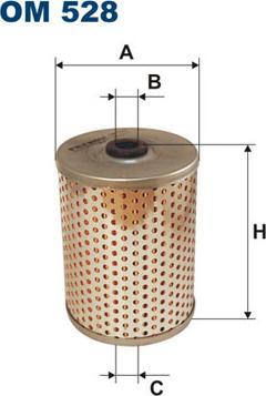 Filtron OM 528 - Filter,tööhüdraulika multiparts.ee