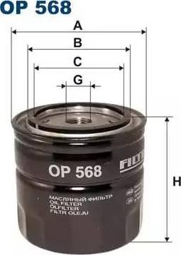Filtron OP 568 - Filter,tööhüdraulika multiparts.ee