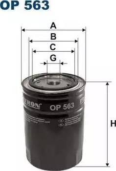 Filtron OP 563 - Filter,tööhüdraulika multiparts.ee