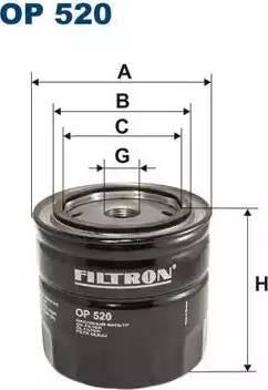 Filtron OP 520 - Filter,tööhüdraulika multiparts.ee