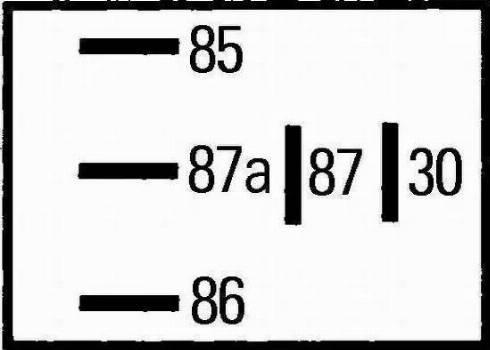 HELLA 4RD 965 453-041 - Relee, kütuse eelsoojendi multiparts.ee