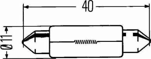HELLA 8GM 002 091-241 - Hõõgpirn, piduri-/tagatuli multiparts.ee