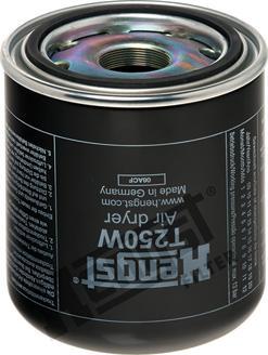 Hengst Filter T250W - Õhukuivatuspadrun, suruõhusüsteem multiparts.ee
