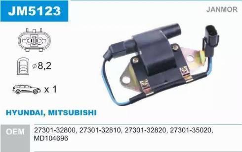 Janmor JM5123 - Süütepool multiparts.ee