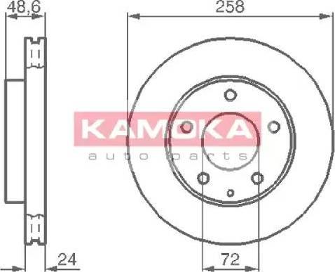 Kamoka 103992 - Piduriketas multiparts.ee