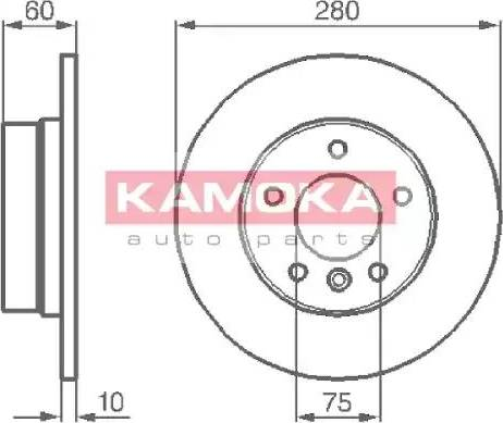 Kamoka 103498 - Piduriketas multiparts.ee