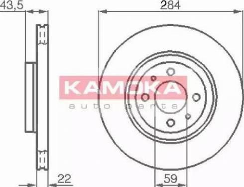 Kamoka 103440 - Piduriketas multiparts.ee