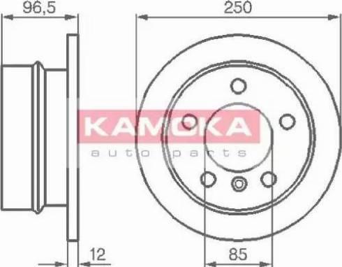 Kamoka 103454 - Piduriketas multiparts.ee