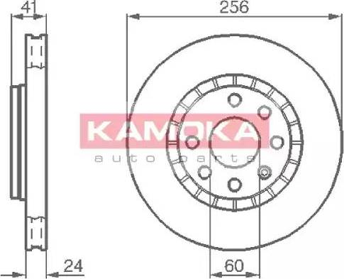 Kamoka 103412 - Piduriketas multiparts.ee