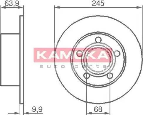 Kamoka 103642 - Piduriketas multiparts.ee