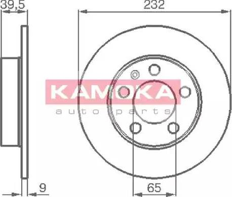 Kamoka 1036068 - Piduriketas multiparts.ee