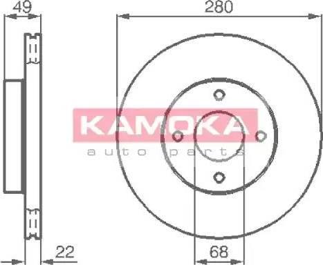 Kamoka 1031918 - Piduriketas multiparts.ee