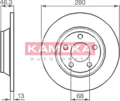 Kamoka 1031518 - Piduriketas multiparts.ee