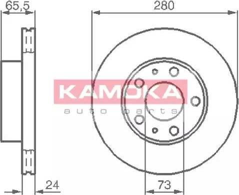 Kamoka 1031534 - Piduriketas multiparts.ee