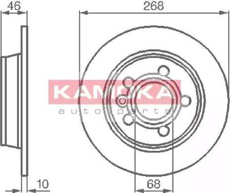 Kamoka 1031694 - Piduriketas multiparts.ee
