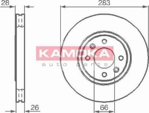 Kamoka 1031682 - Piduriketas multiparts.ee
