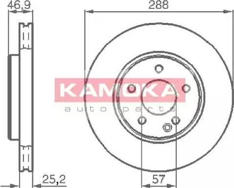 Kamoka 1031634 - Piduriketas multiparts.ee