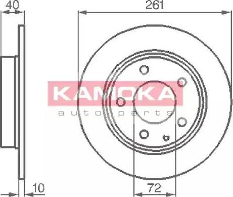 Kamoka 1031048 - Piduriketas multiparts.ee