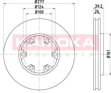 Kamoka 1031084 - Piduriketas multiparts.ee
