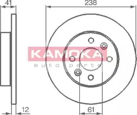 Kamoka 103110 - Piduriketas multiparts.ee