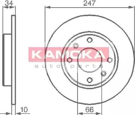 Kamoka 103118 - Piduriketas multiparts.ee