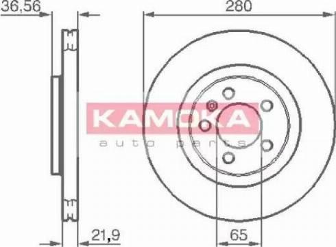 Kamoka 1031856 - Piduriketas multiparts.ee