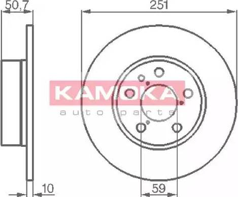 Kamoka 103134 - Piduriketas multiparts.ee