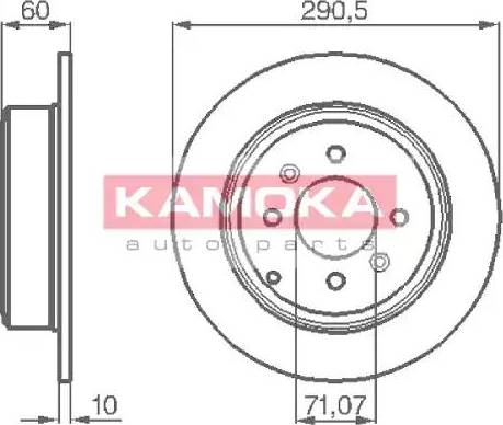 Kamoka 1031738 - Piduriketas multiparts.ee