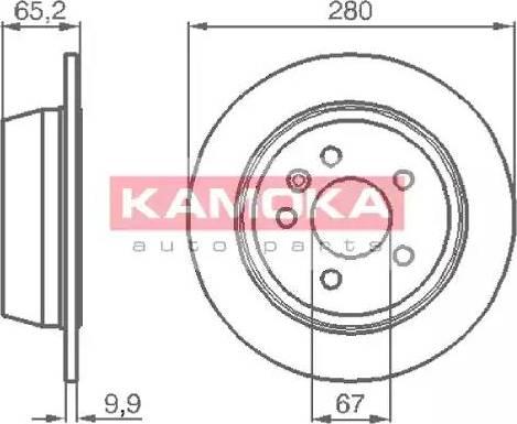 Kamoka 1031722 - Piduriketas multiparts.ee