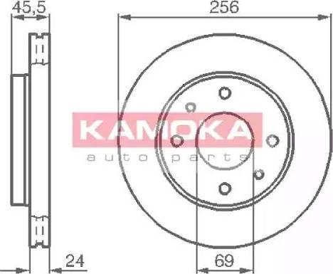 Kamoka 1031770 - Piduriketas multiparts.ee