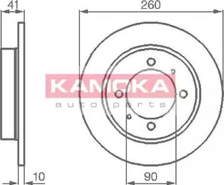 Kamoka 1031772 - Piduriketas multiparts.ee
