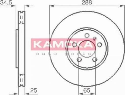 Kamoka 1032442 - Piduriketas multiparts.ee