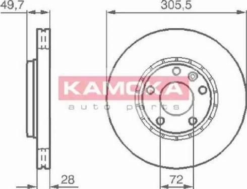 Kamoka 1032408 - Piduriketas multiparts.ee