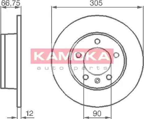 Kamoka 1032544 - Piduriketas multiparts.ee