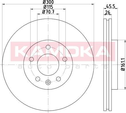 Kamoka 103265 - Piduriketas multiparts.ee