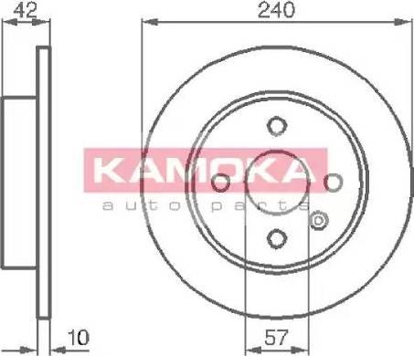 Kamoka 1032086 - Piduriketas multiparts.ee