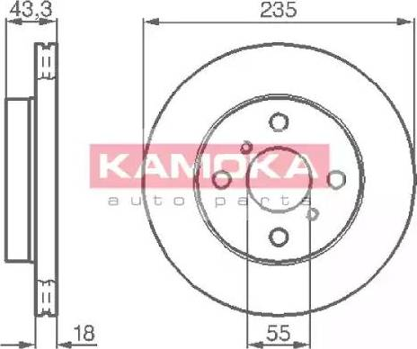 Kamoka 1032168 - Piduriketas multiparts.ee