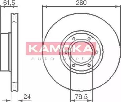 Kamoka 1032134 - Piduriketas multiparts.ee