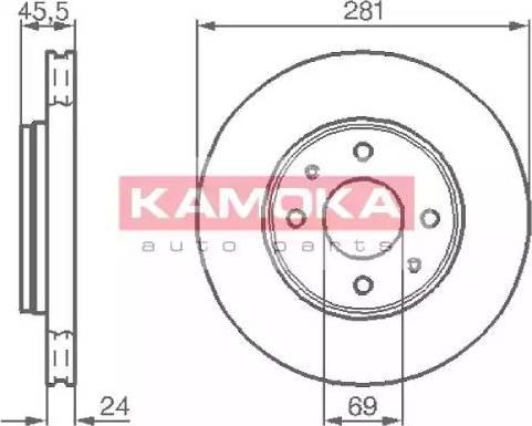 Kamoka 1032136 - Piduriketas multiparts.ee