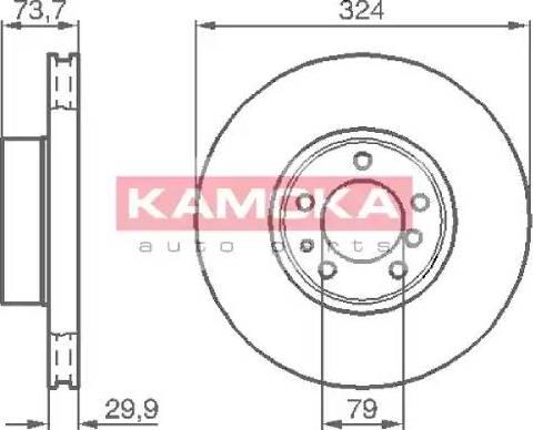 Kamoka 1032130 - Piduriketas multiparts.ee