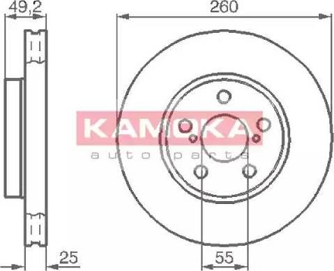 Kamoka 1032128 - Piduriketas multiparts.ee