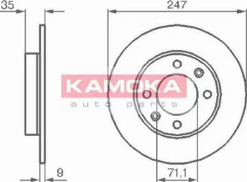 Kamoka 1032356 - Piduriketas multiparts.ee