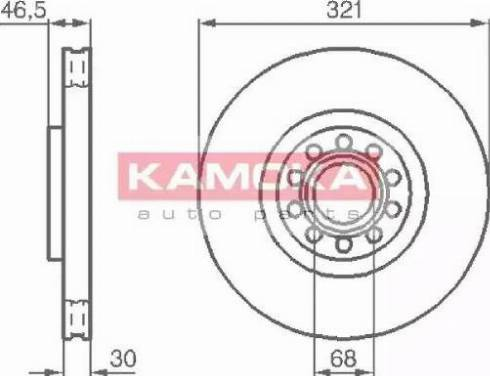 Kamoka 1032332 - Piduriketas multiparts.ee